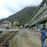 11. Huigra y la nueva vía férrea.